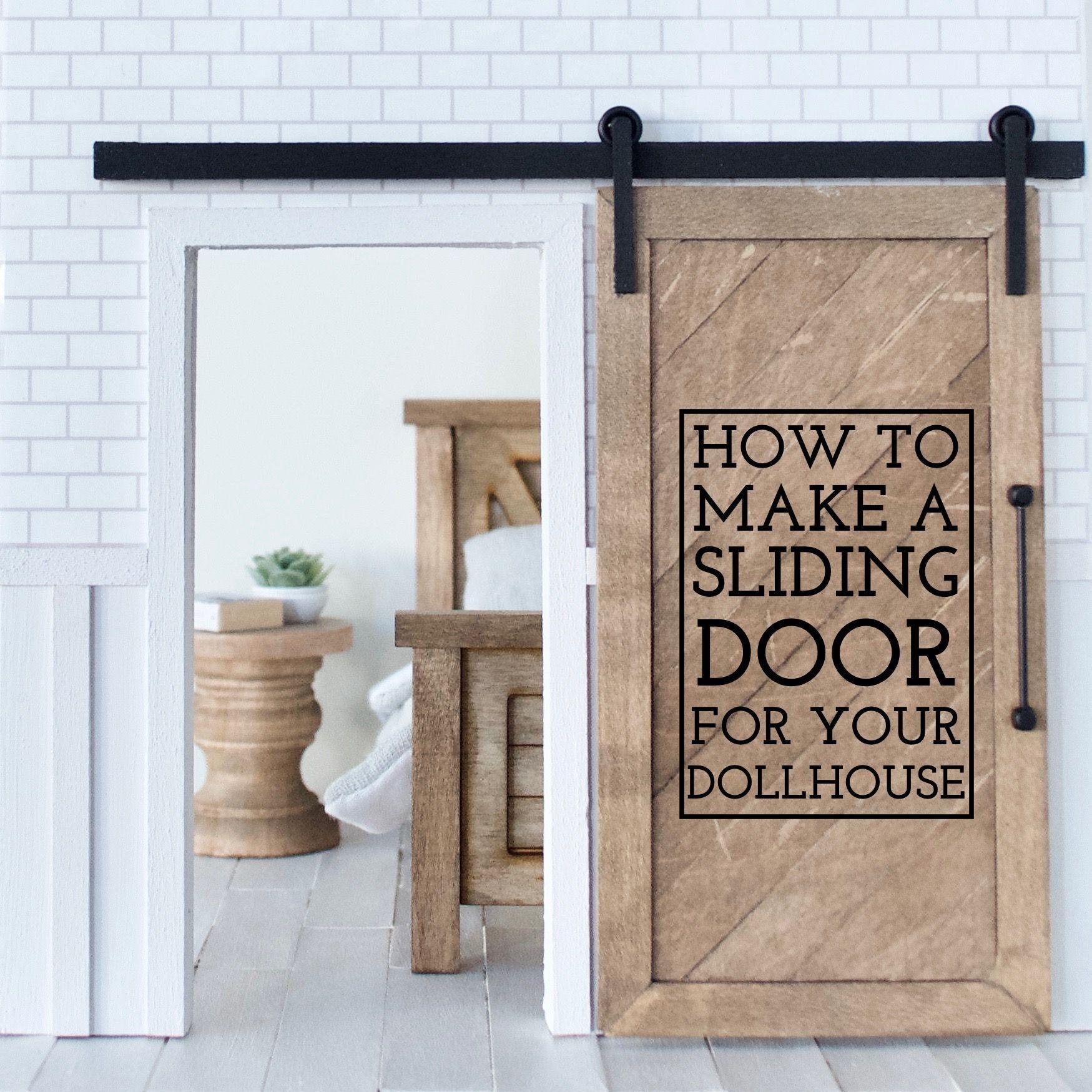 Dollhouse Sliding Door Tutorial