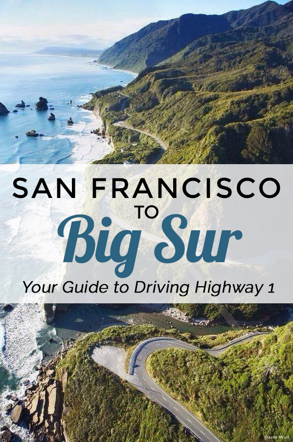 Interactive Map Usa Road Trip%0A San Francisco to Big Sur  A Highway   Itinerary  Road Trip UsaCalifornia