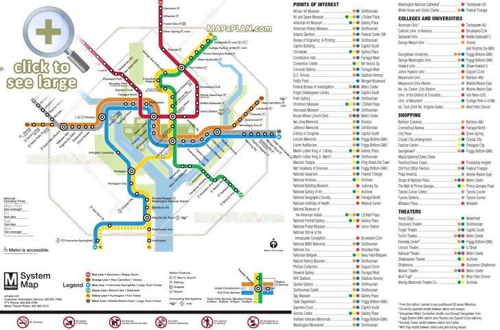 Union Station Subway Map.Metrorail Metro Lines Transit Subway Underground Tube Diagram