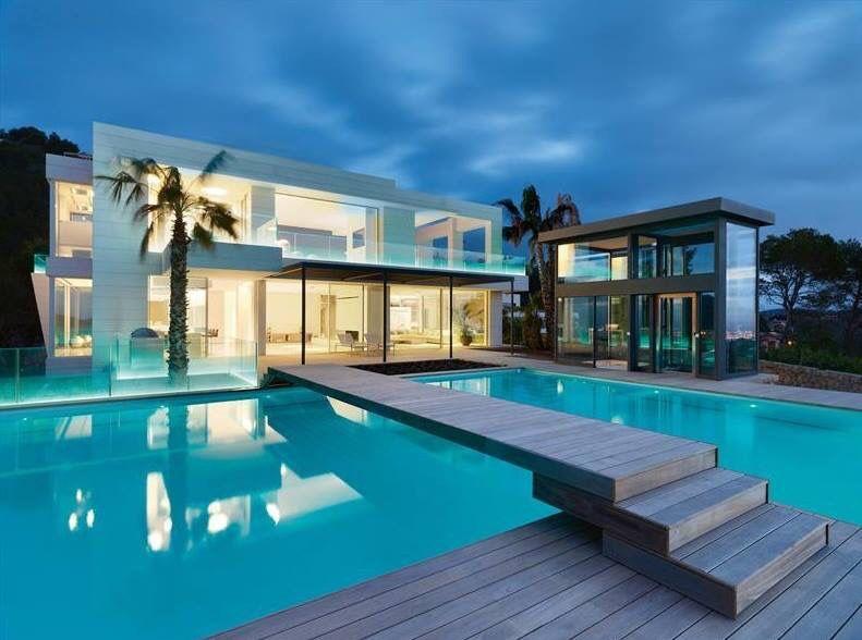 Casa Por Fuera Luxury Homes Dream Houses Architecture House House Exterior