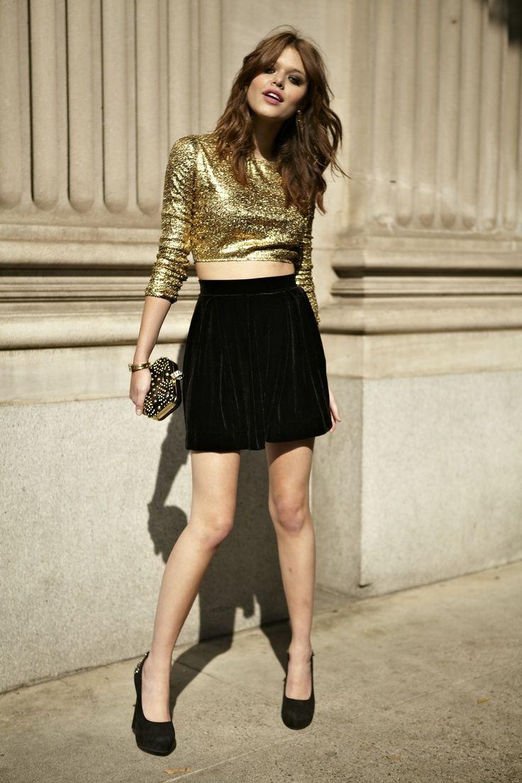 ways to wear velvet for fall | black velvet, sequins and fashion women