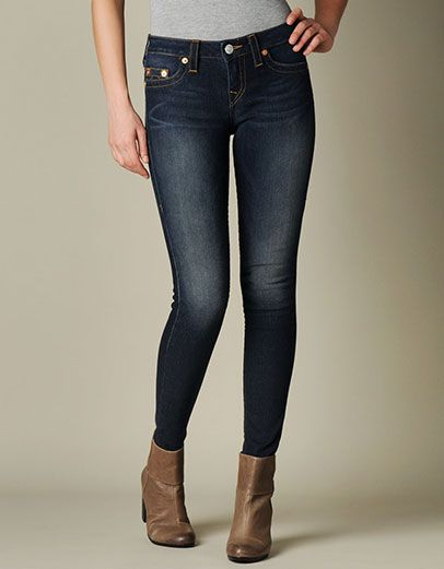 Add a premium denim staple to your wardrobe with this exclusive style by True Religion. This delivery from our hand-picked series features minimal...