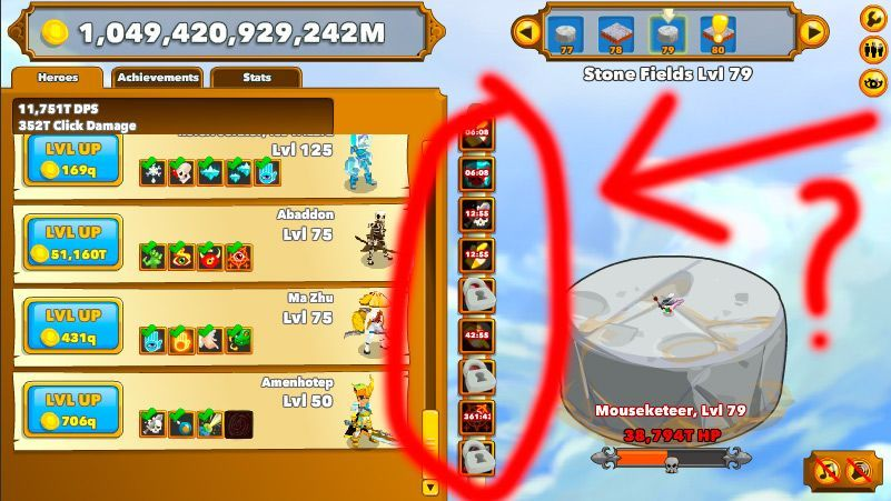 Clicker Heroes Hack download and get unlimited Gold, DPS and