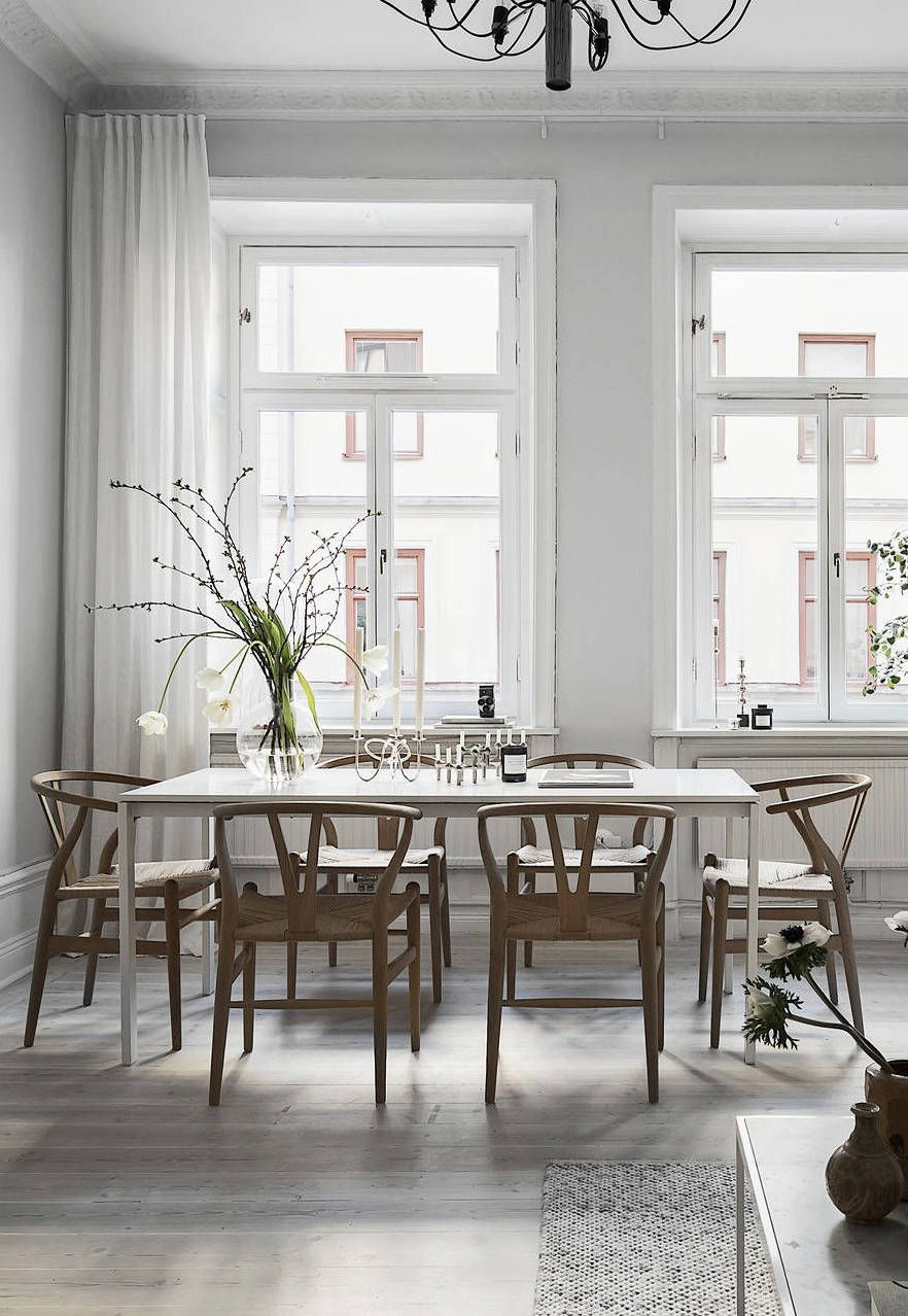 Esszimmer Jugendstil Stylish Home In Grey Pinterest Esszimmer Einrichten Und