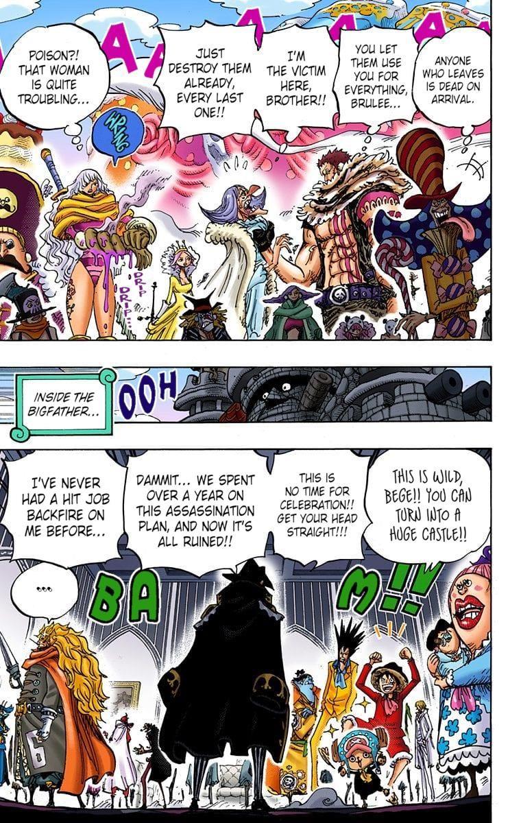 One Piece Digital Colored Comics Chapter 869 Comic Book Template One Piece Manga One Piece Comic