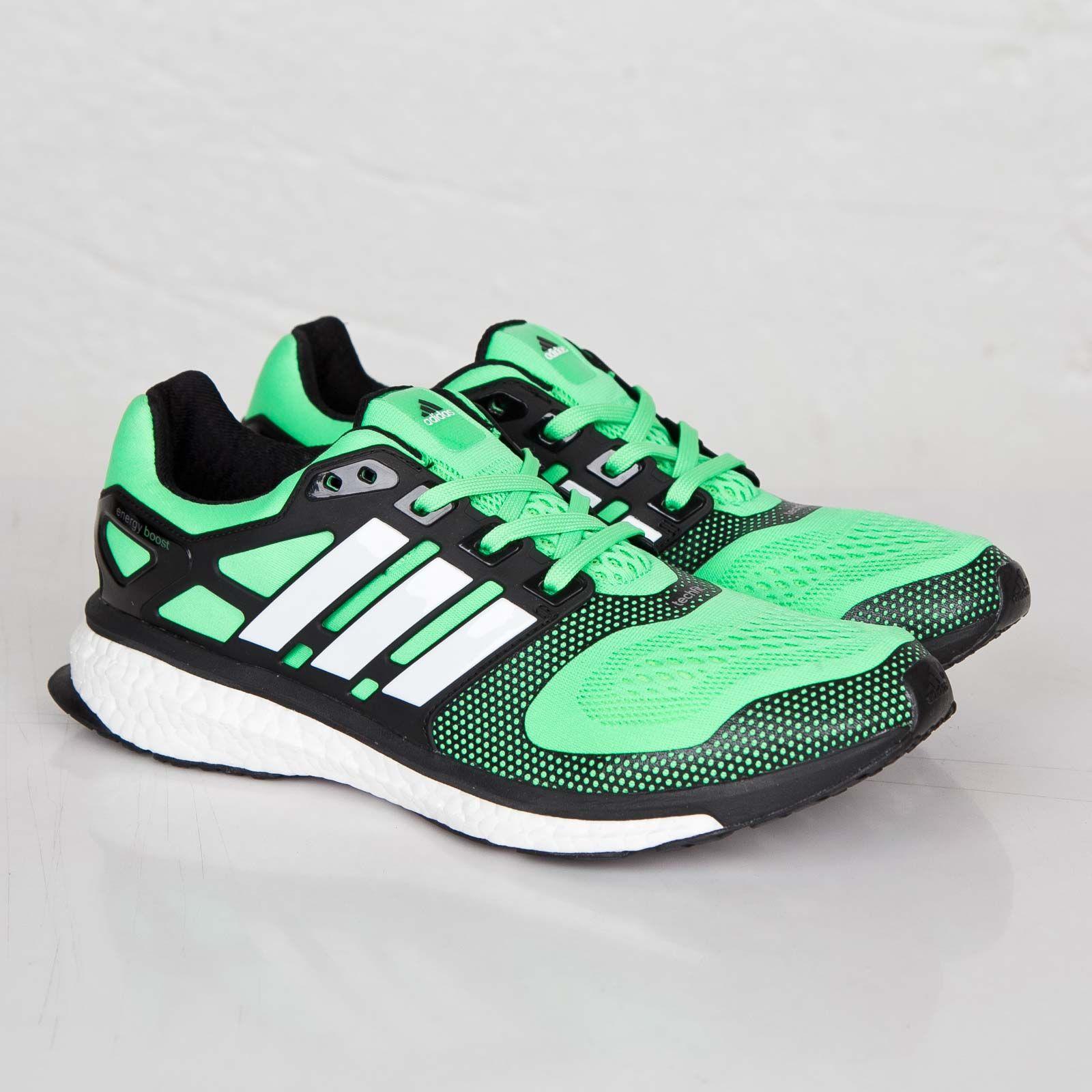Adidas Running Energy Boost Retail ESM promotion Flash Green/Core Black/Ftwr White B44281