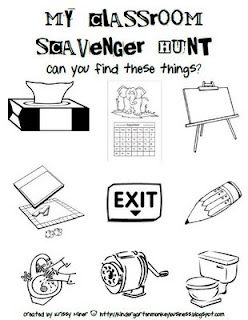 good activity for back to school. Helps kids to locate