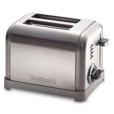 Cuisinarta Metal Classic 2 Slice Toaster Bedbathandbeyond Com