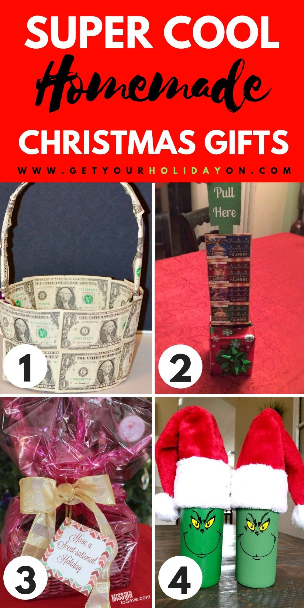 DIY Christmas Gifts that are Super Cute and Easy to Make! | Kids ...