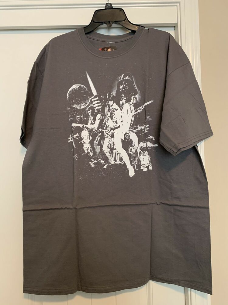 Licensed Graphic Tee R2D2 Shirt Star Wars Join the Empire Storm Troopers