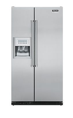 Professional 36 Inch Side By Side Refrigerator With Water Dispenser Viking Range Corporation Viking4da Viking Refrigerator Refrigerator Refrigerator Freezer