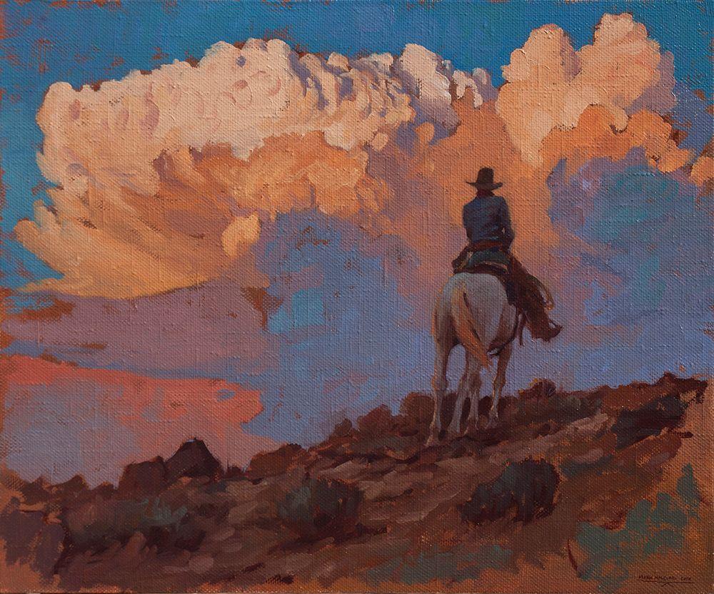 GrowingCloud   Mark Maggiori   FAR WEST - 1   Art, Cowboy ...