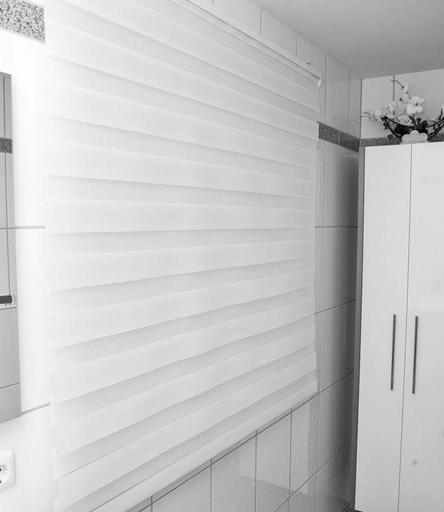 rollo #badezimmer #weiß #clean Macht Euer Zuhause schöner mit - rollos für badezimmer