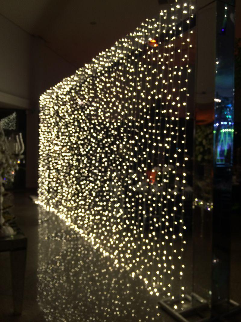 Cortina de led em uma festa ficaria lindo n 15 year for Cortina de luces led