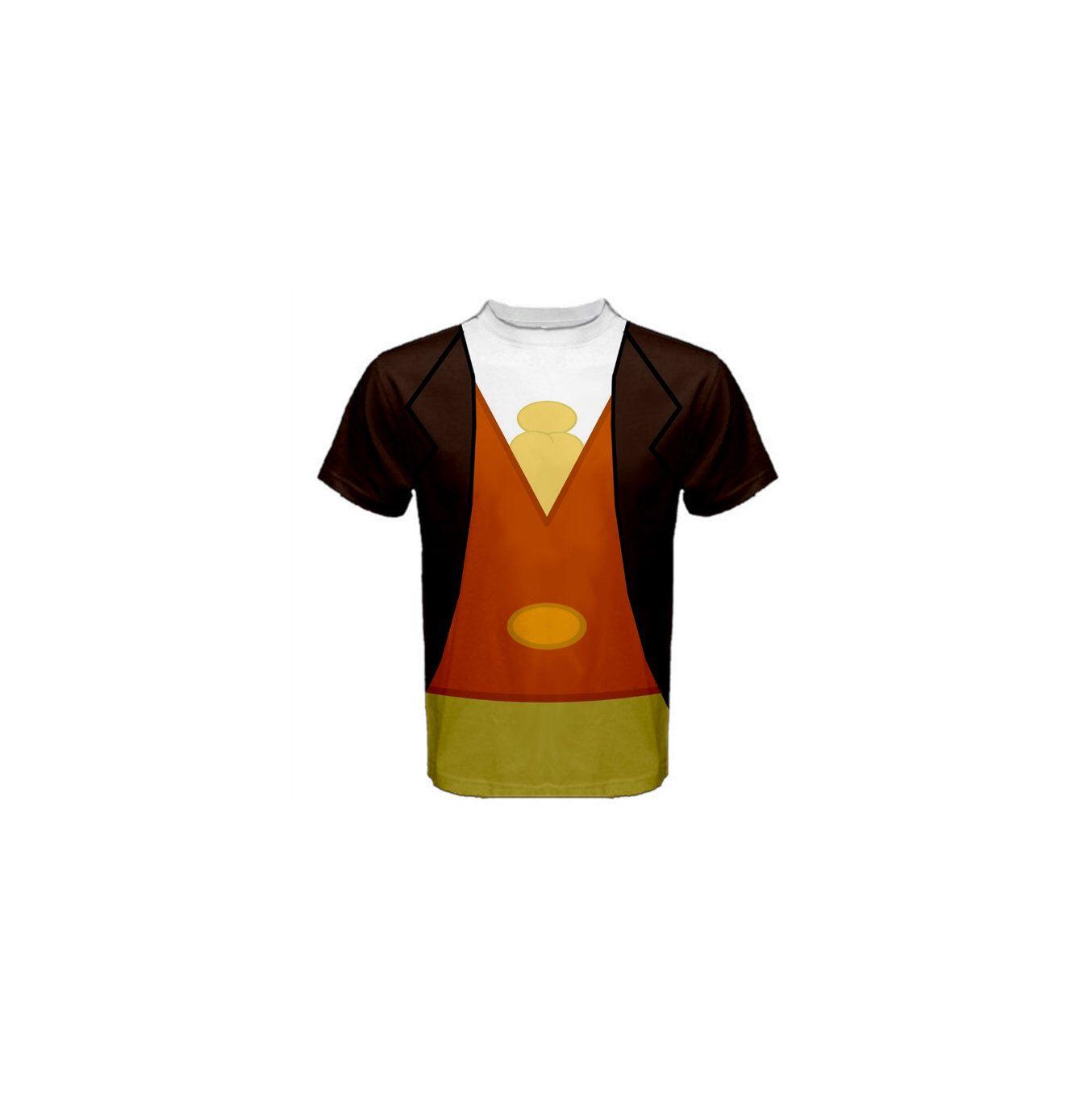 Mens Jiminy Cricket Pinocchio Inspired Disneybound Shirt Jiminy