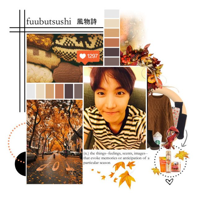 """""""the adventures of a white girl in fall ft. hobi"""" by bangtan-life ❤ liked on Polyvore featuring Madewell, Improvements, Casetify, Chicwish and Topshop"""
