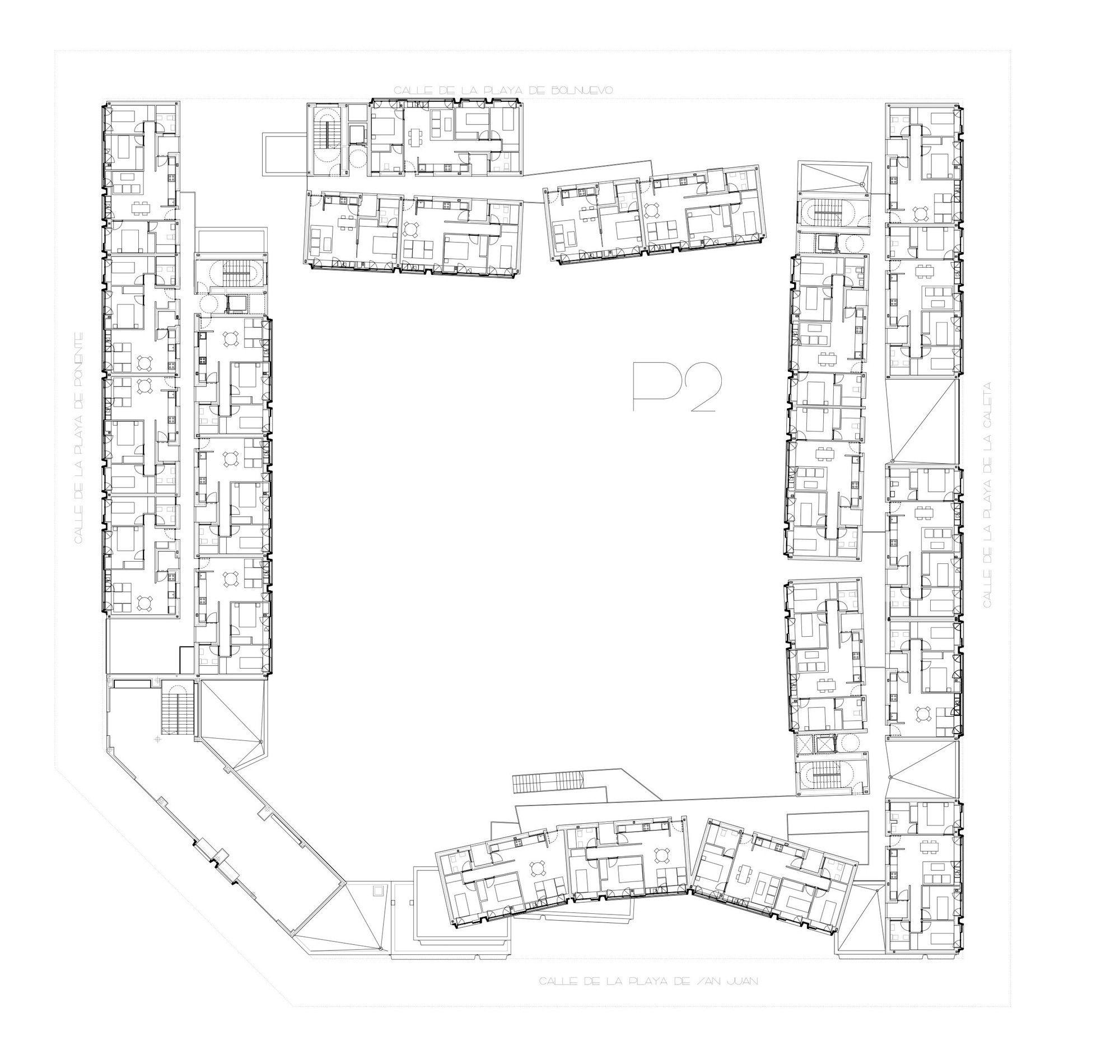 gallery of barajas social housing blocks embt 24 social housing