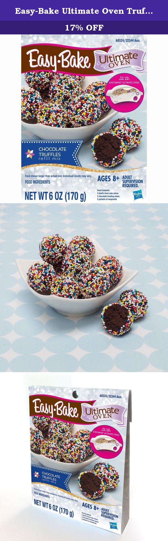 Easy Bake Ultimate Oven Truffles Refill Pack 6 Oz This Kit Makes