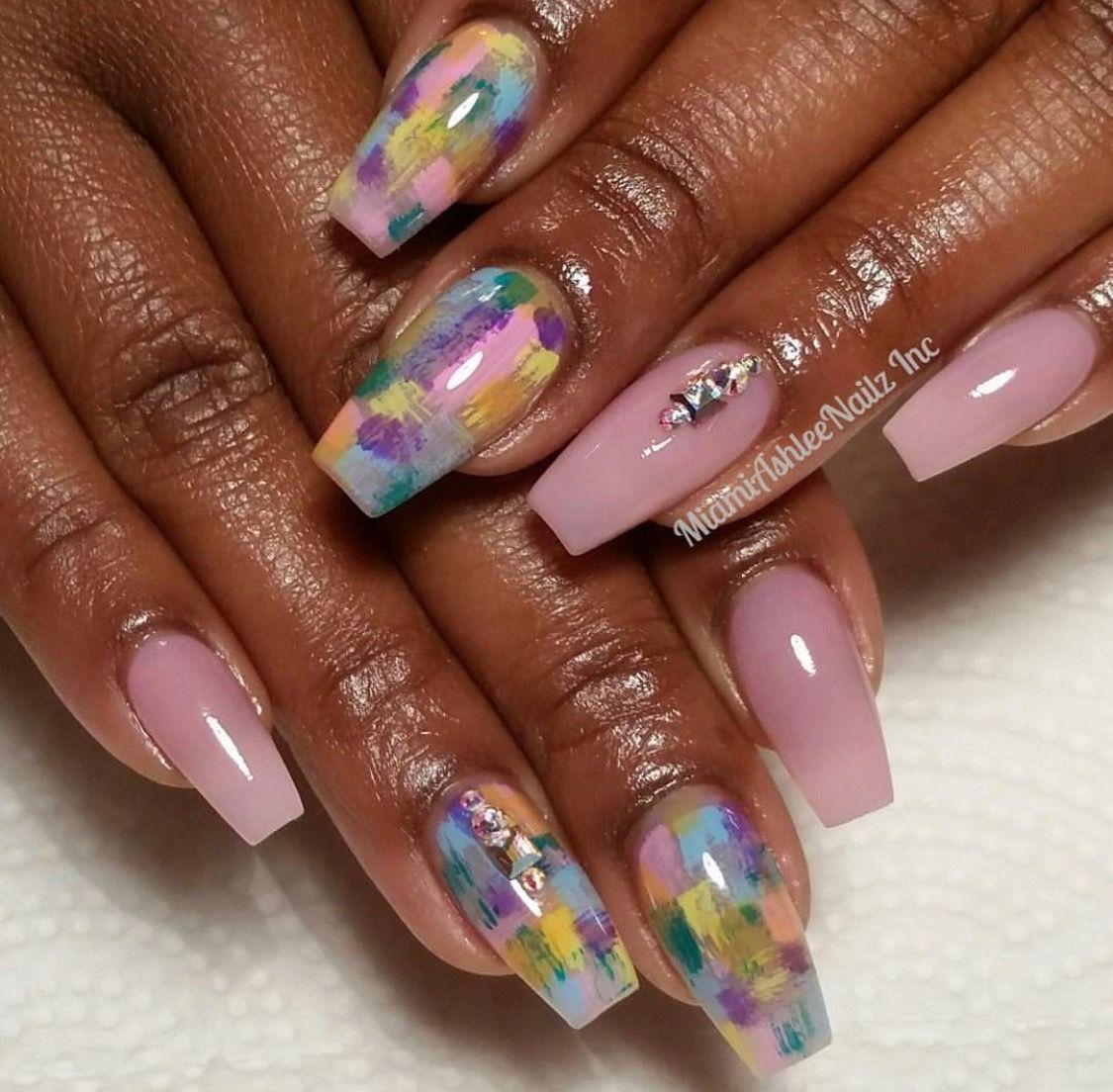 Pin by erika stevens on nail ideas pinterest acrylic nail designs