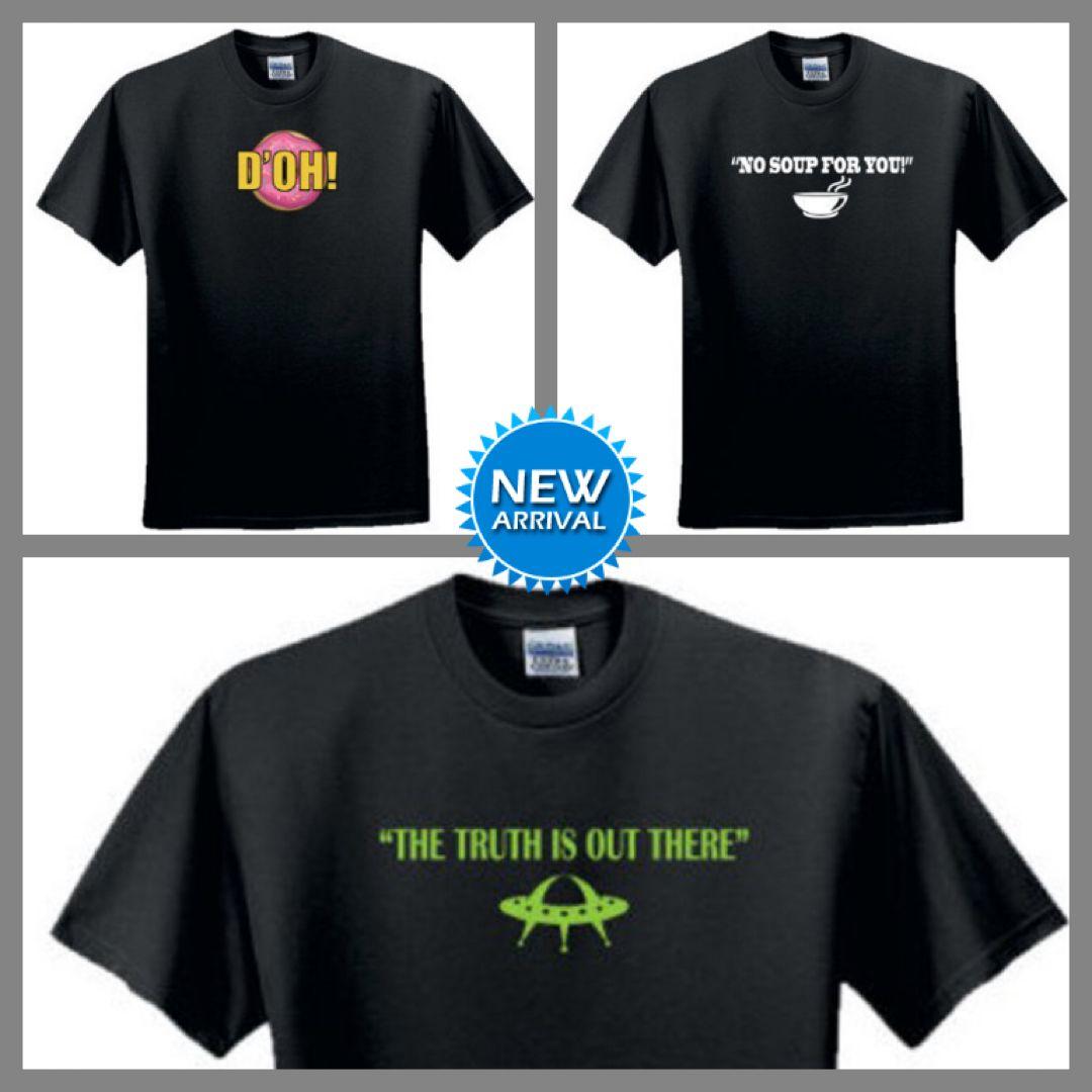 A Few New Tv Show Themed Fan Art T Shirts Simpsons Homer Donut