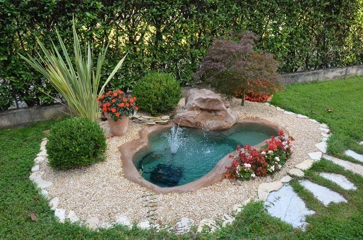 Cascata Giardino Fai Da Te : Una piccola oasi in giardino idee stupende tutorial