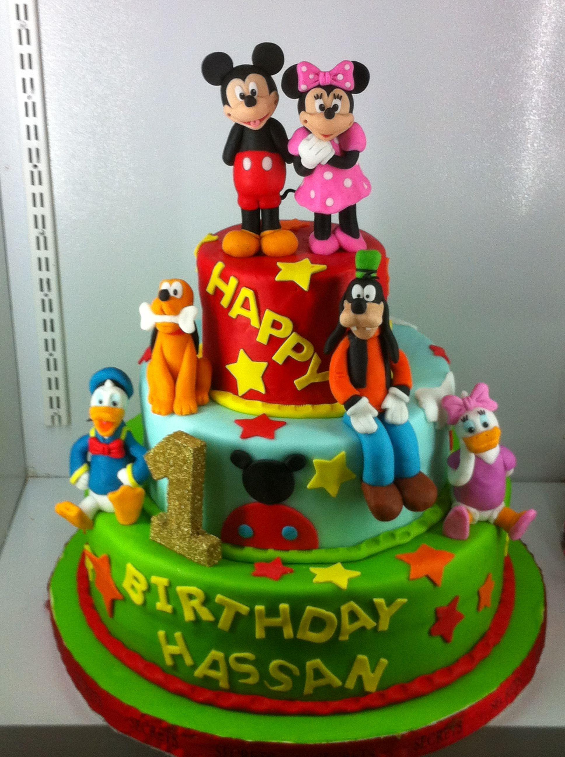 disney characters cake Cake designs birthday, Character