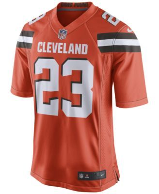 reputable site affc8 f620e Nike Men's Joe Haden Cleveland Browns Game Jersey - Orange ...