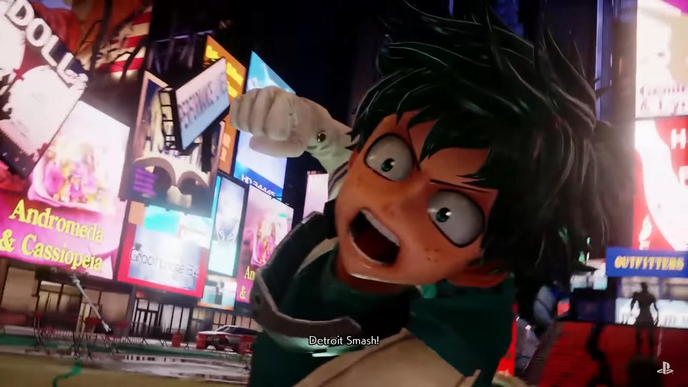 Deku In Jump Force Bandai Namco Entertainment Fighting Games Player Character