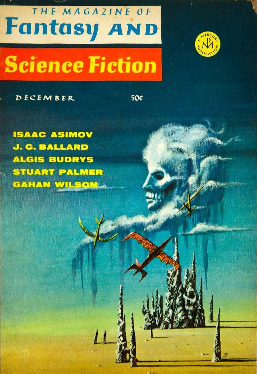 Amazon.com - 1967 Cover Fantasy Science Fiction Art Jack Gaughan Cloud Sculptors JG Ballard - Original Cover - Prints