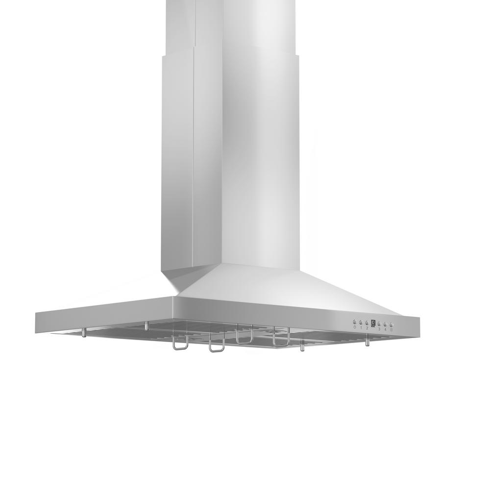 Zline Kitchen And Bath Zline 30 In Remote Blower Island Mount Range Hood In Stainless Steel Gl2i Rd 30 Gl2i Rd 30 Island Range Hood Stainless Steel Island Kitchen Bath