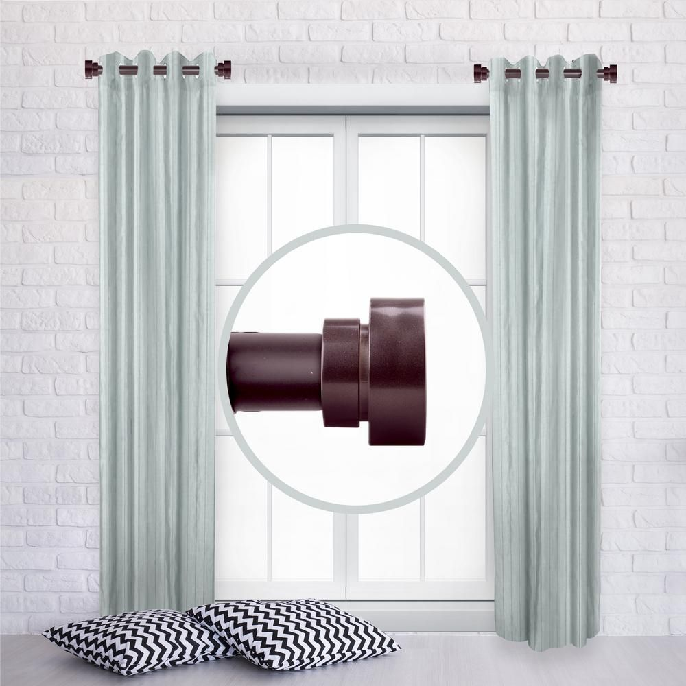 Rod Desyne 1 Inch Side Window Curtain Rod Adjustable 12 20 Inch