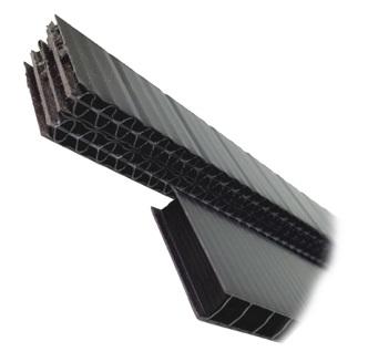 Plastic Furring Strips 1 1 2 X 3 8 Inch X 4 3 Ft Sections Carton 48 Hdpe Plastic Bug Screen Plastic