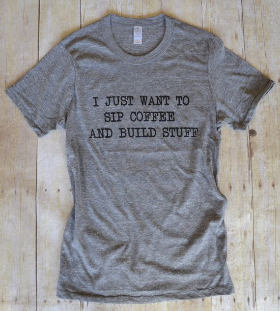 Building And Coffee Shirts