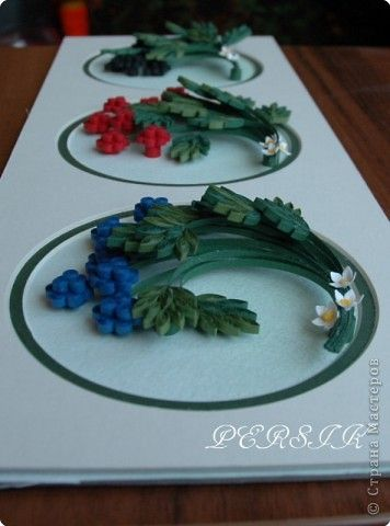 Master class Berries MK Paper Quilling Photo 14