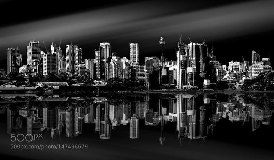 Sydney CBD by AnthonyDuff