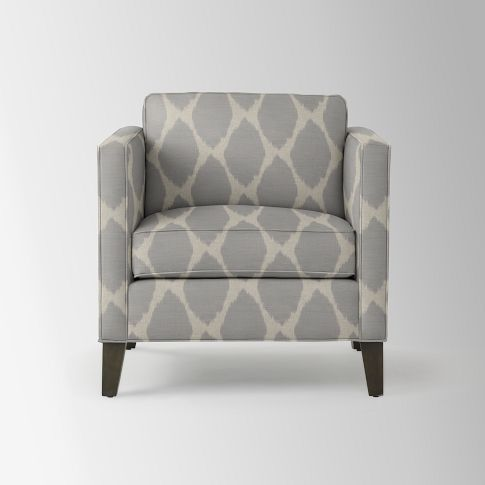 Charming Dunham Down Filled Armchair   Boxed (Prints) | West Elm