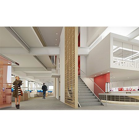 Gensler Unveils New Creative Workspace In Newport Beach Library Philia Pinterest Newport Beach