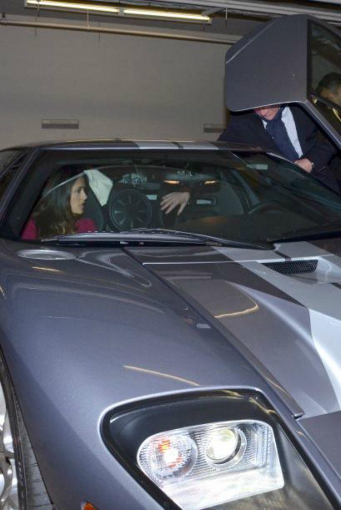 Salma Hayek Ford Gt Portugal Cars Portugal Car Hire Car Rental Lisbon