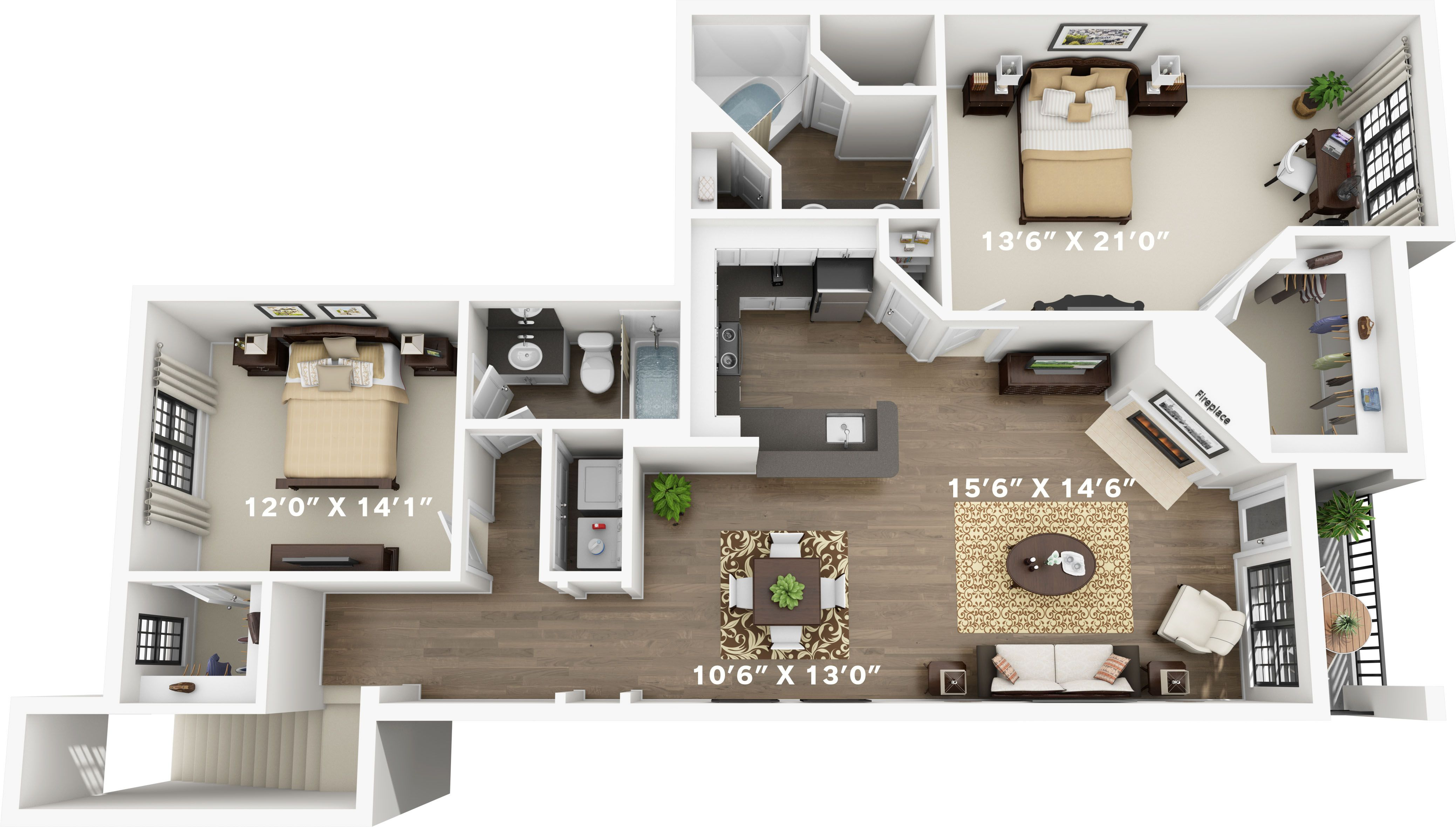 1 2 3 And 4 Bedroom Apartments In North Richland Hills Tx Northrichlandhills Texas Apartment Stead House Layout Plans My House Plans Apartment Layout