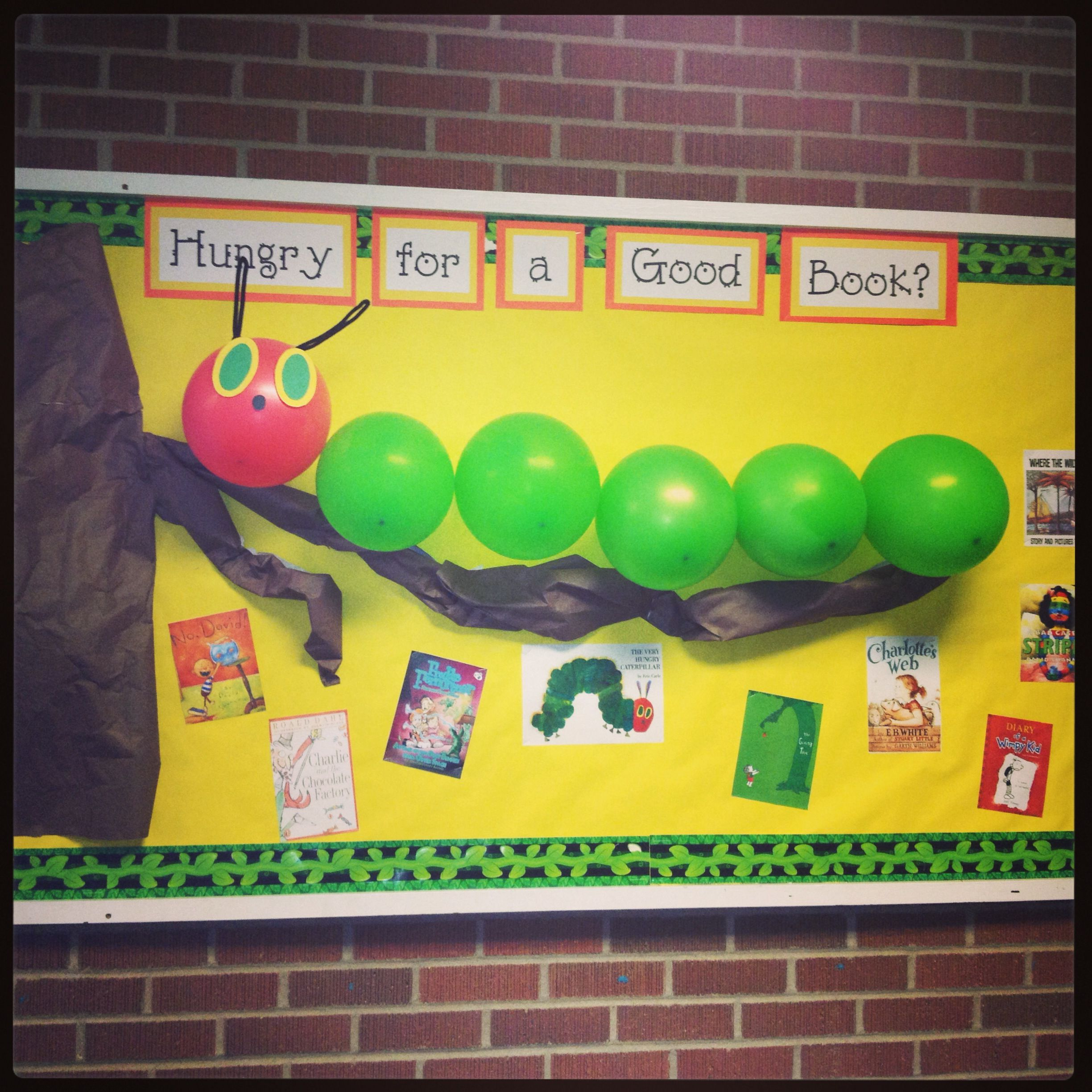 A Very Hungry Caterpillar bulletin board!! | ideas for class ...