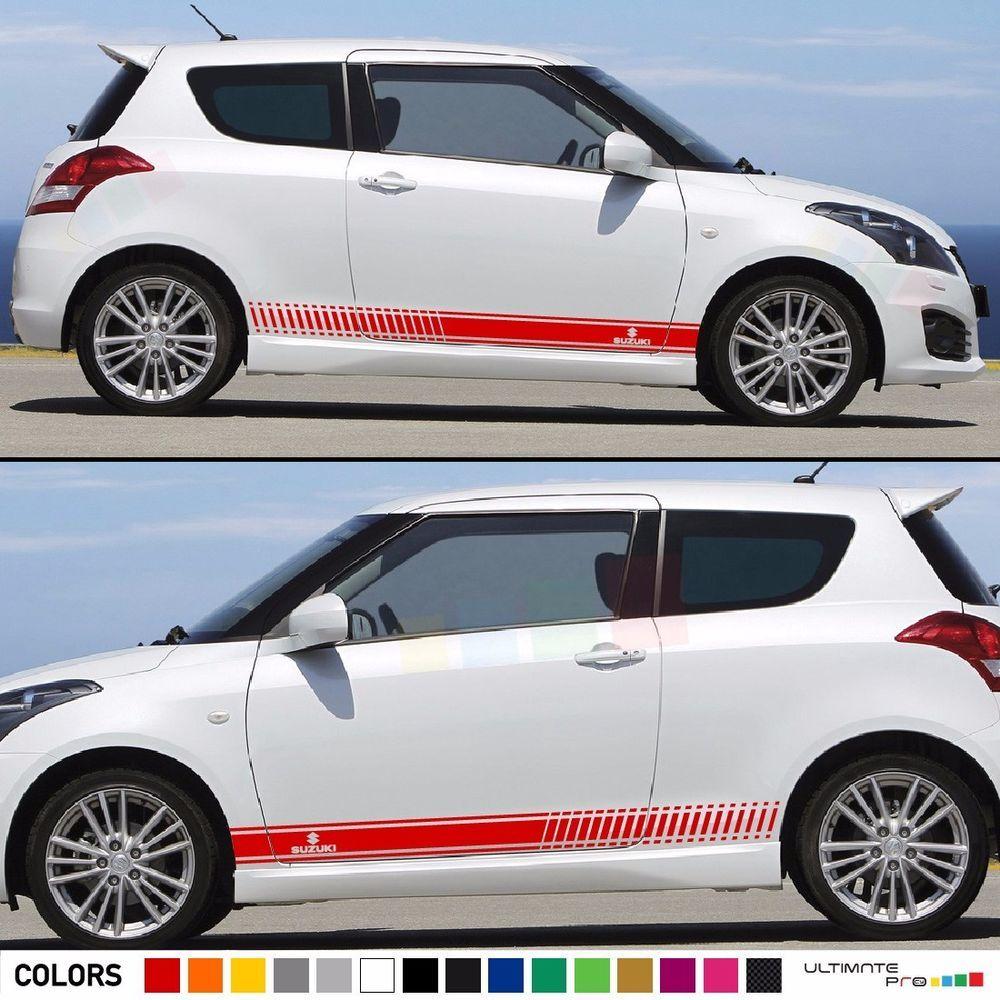 Sticker Graphic Stripe Kit For Suzuki Swift Sport 2013 2016 Xenon