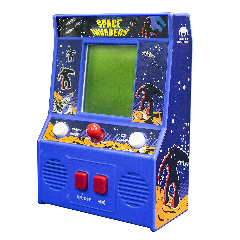 Licensed Mini Classic Arcade Game Space Invaders