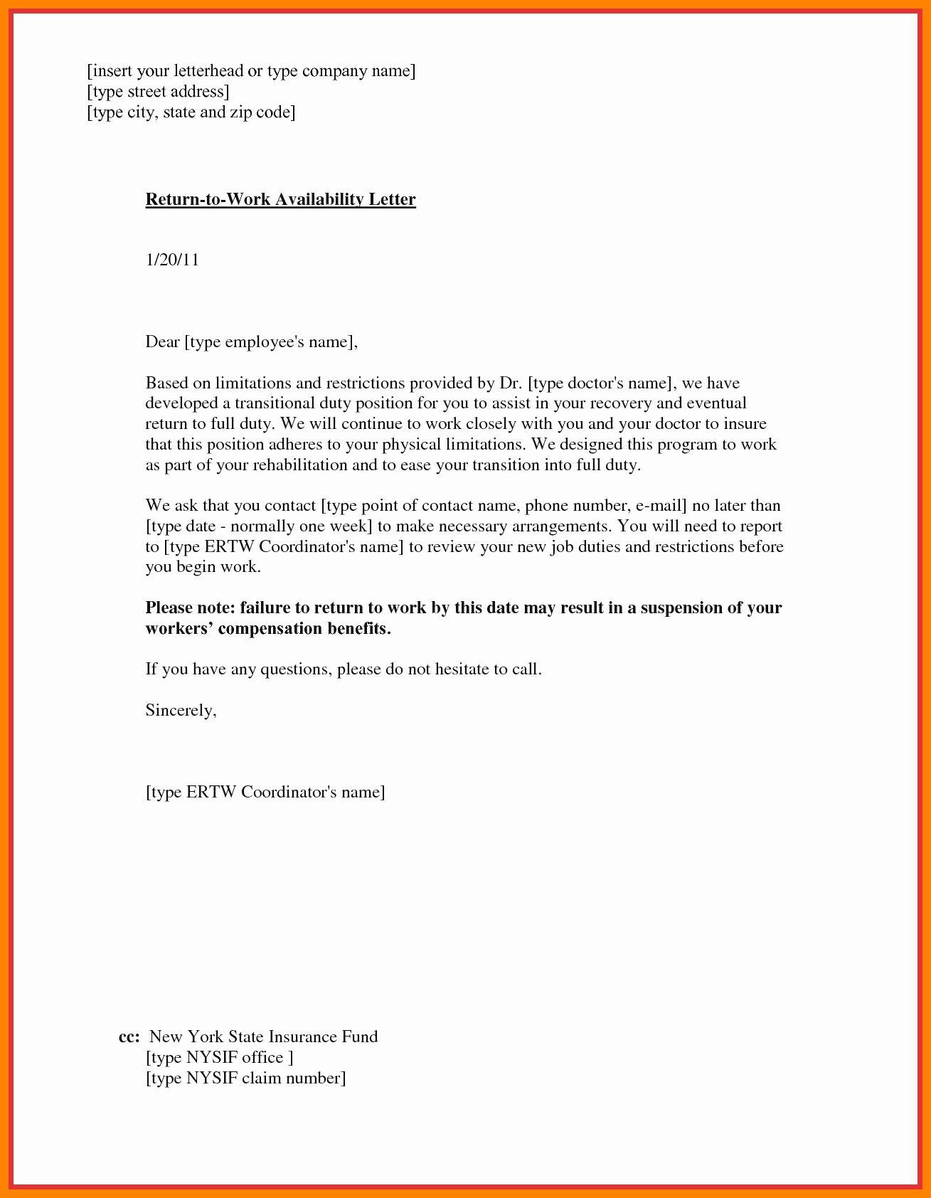 Doctor Note Return To Work Best Of 6 Sample Doctor Note To Return To Work Doctors Note Doctors Note Template Return To Work