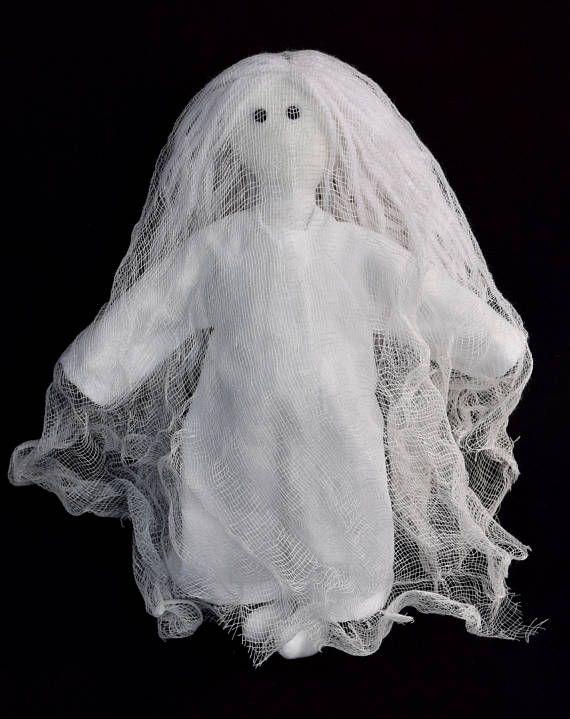 Halloween Ghost Doll  Halloween Decoration  Ghost Art Doll