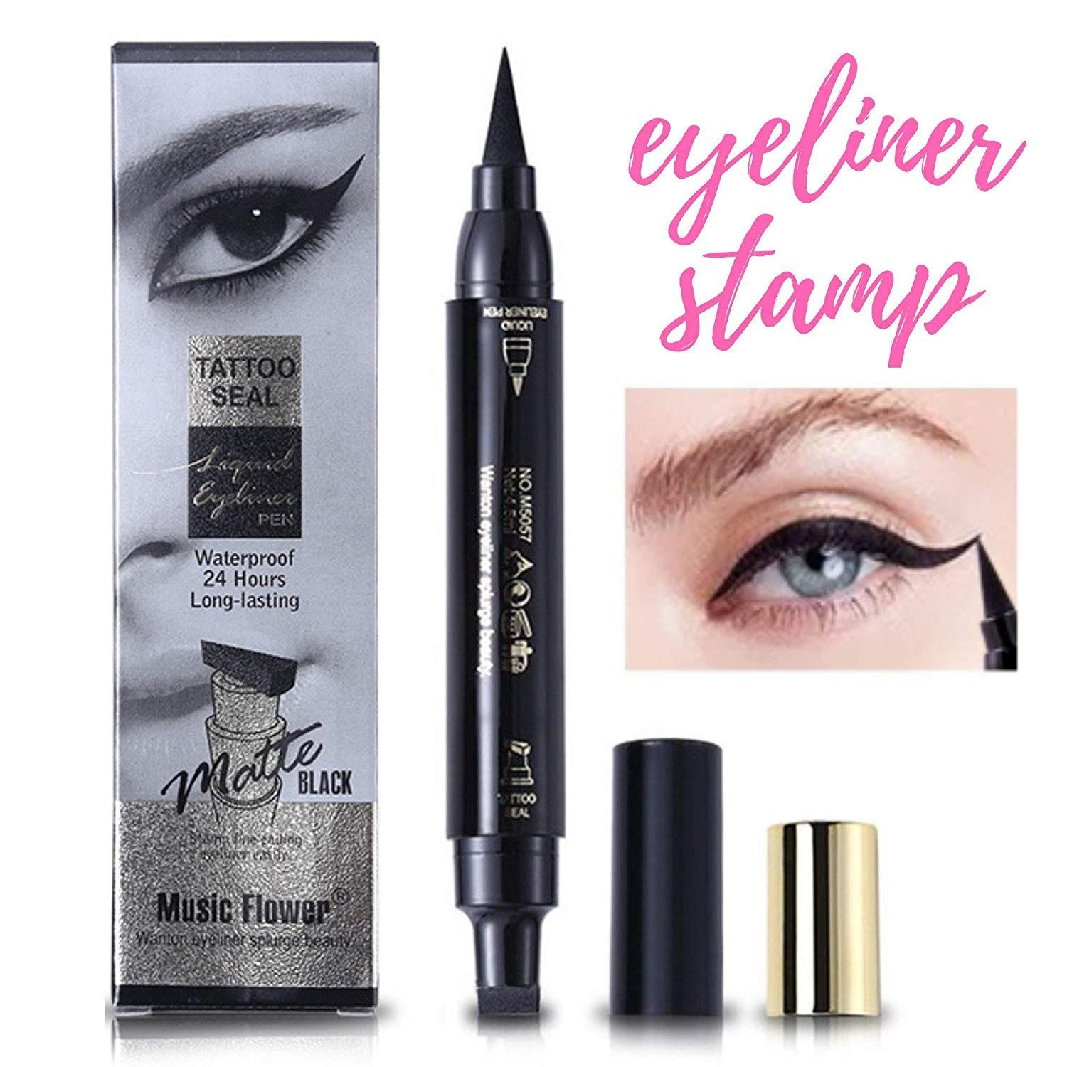 Waterproof Wing Eyeliner Stamp Elisabeh Dual Ended