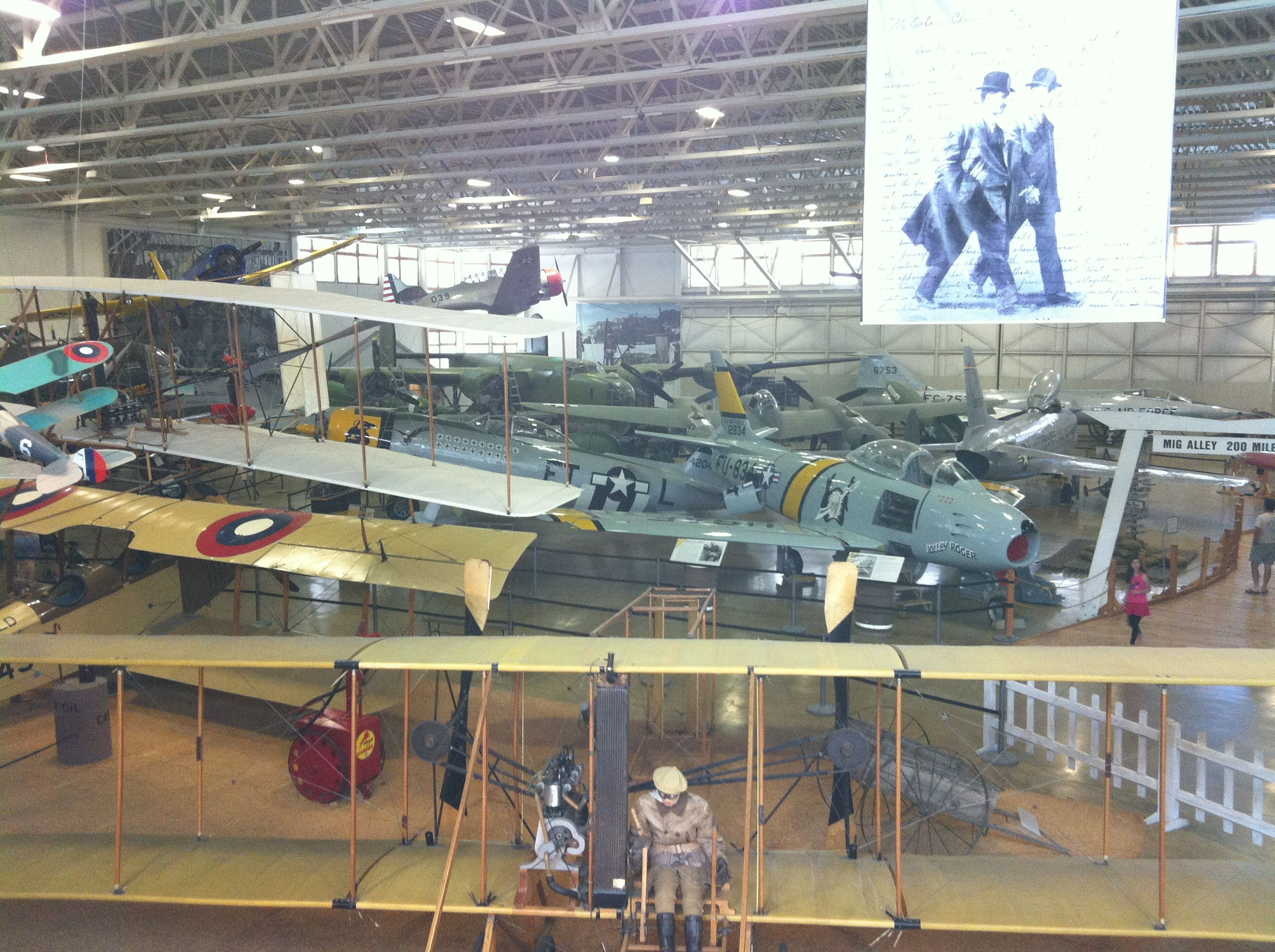 A view of MIG Alley, Hill Aerospace Museum, Hill Air Force