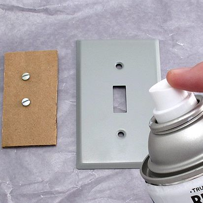 Decorative Wall Plates For Light Switches Painting Switch Plates Tutorial  How To  Pinterest  Light