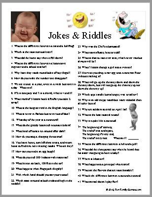 Seventy Five Jokes And Riddles To Make Anyone Smile Family Fun Games