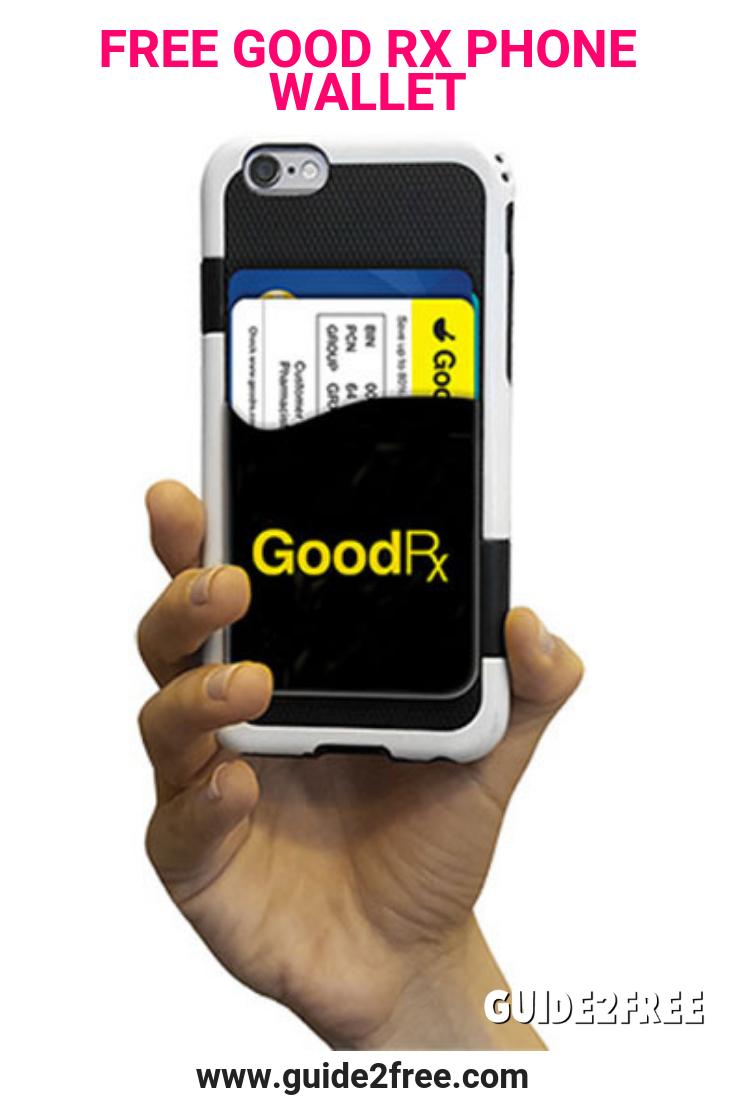 FREE GoodRx Phone Wallet Phone, Phone wallet, Phone pen