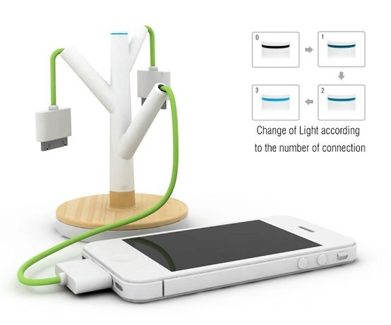 Giving Tree Concept Charger Gadgets Pinterest Cool Stuff